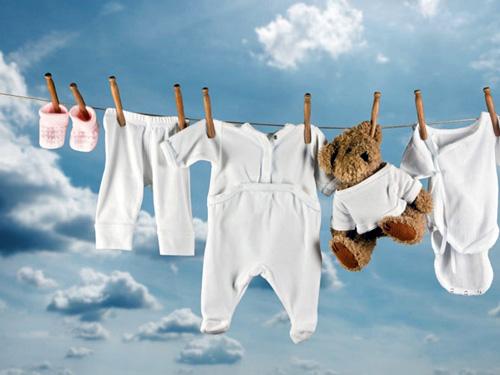 Уход за одеждой новорожденного
