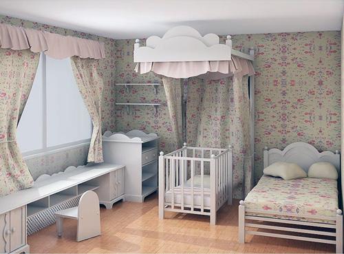 Комната для грудничка