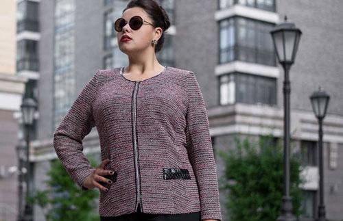 Производство и оптовые продажи женской одежды больших размеров